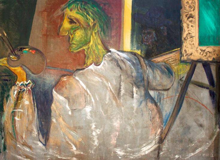 Vieux peintre et amateur